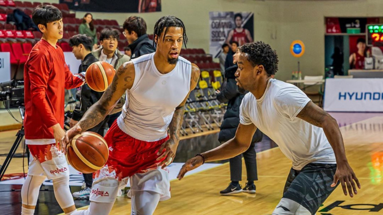 Chris McCullough and Louis Baltazar
